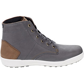 Lowa London II GTX QC Chaussures pour temps froid Homme, anthracite/beige